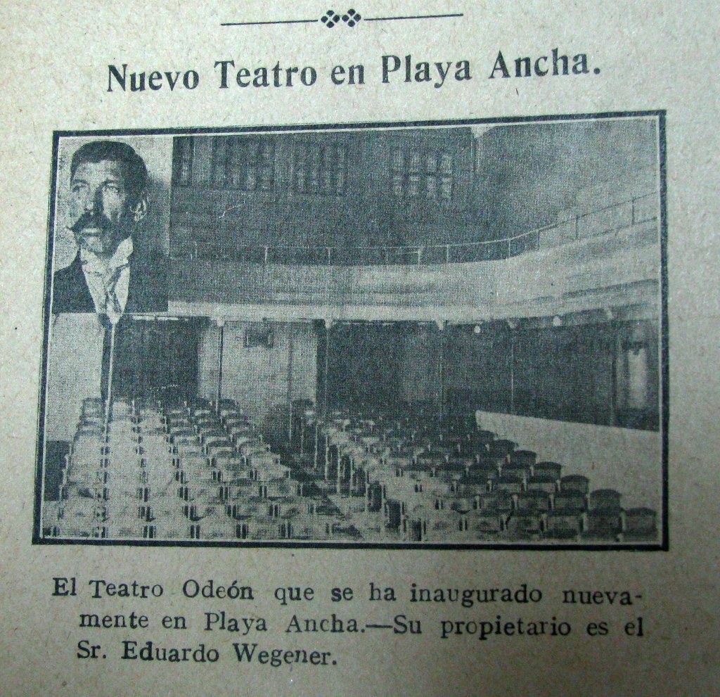 Inauguración del Teatro Odeón
