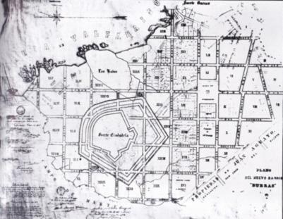 Plano del Proyecto del Barrio Bueras (7) Teatro Odeón