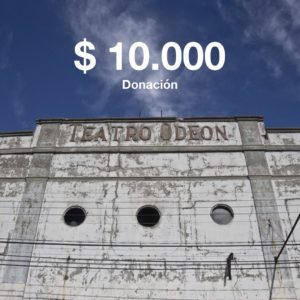 donacion 10000 teatro odeon