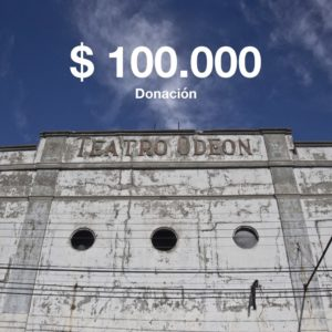 donacion 100.000 teatro odeon
