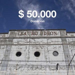 Donación de 50000